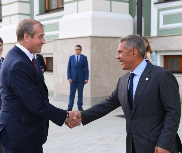 Иркутская область иТатарстан будут развивать сотрудничество