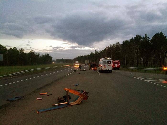 ВТулунском районе вДТП сучастием автомобиля Форд  умер  мотоциклист