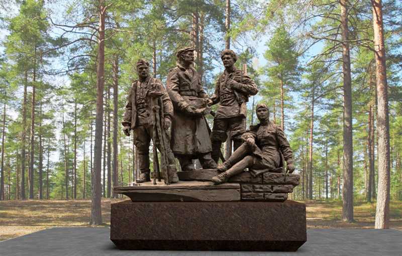 Монумент первостроителям открыли вАнгарске вДень города