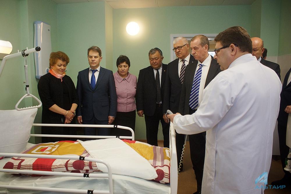 Отделение травматологии открылось вИркутской областной медицинской клинике