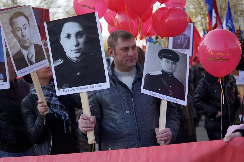 9мая вИркутске отмечают День Победы