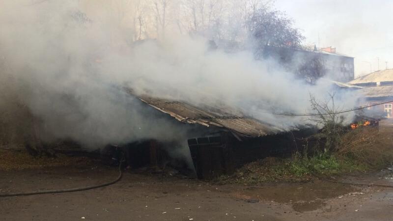 Дом горел наулице Бабушкина 11октября