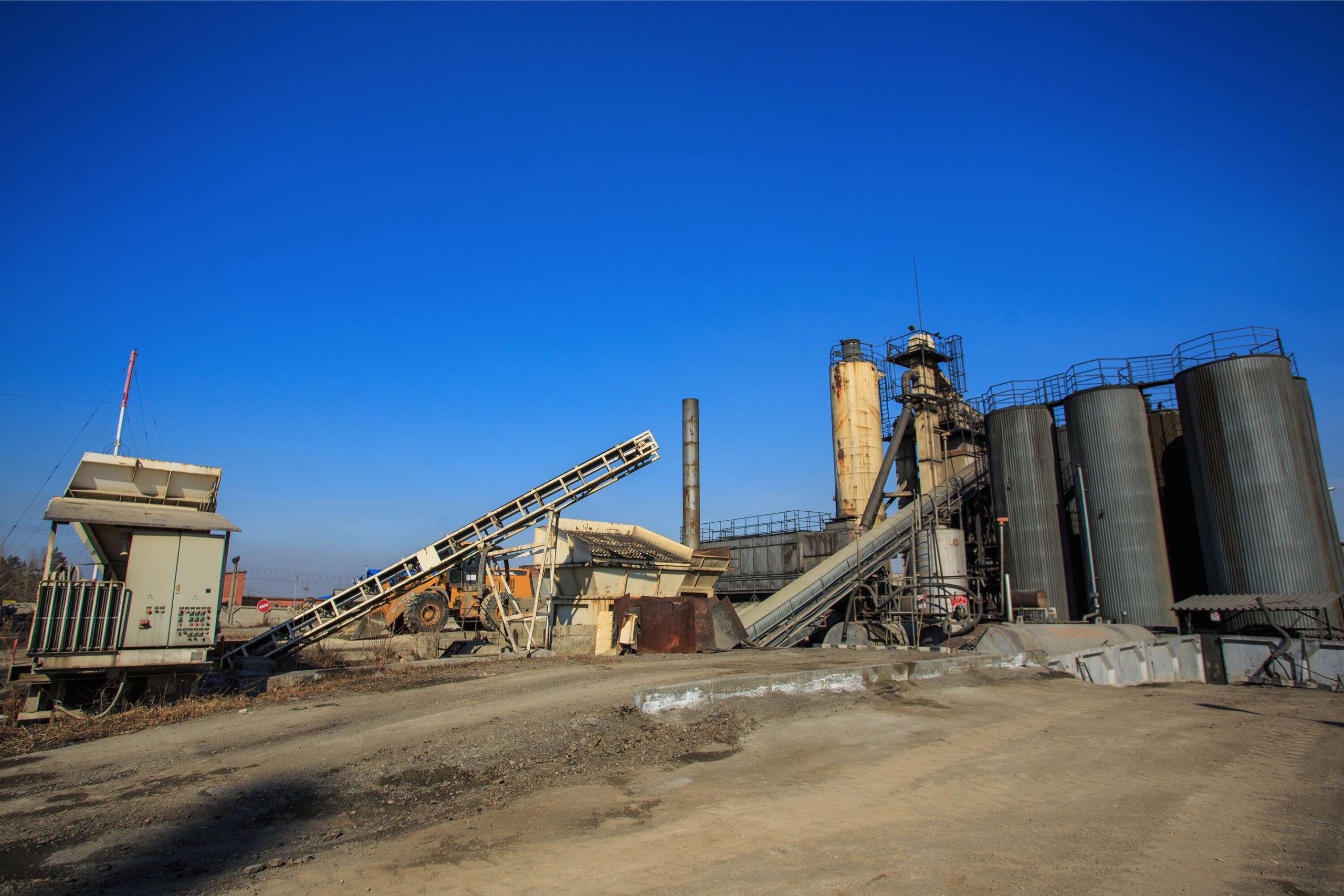 Иркутский асфальтобетонный завод МУП «ИркутскАвтодор» заработает ссамого начала мая