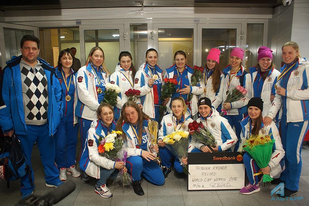 Иркутская команда выиграла Кубок мира среди женщин