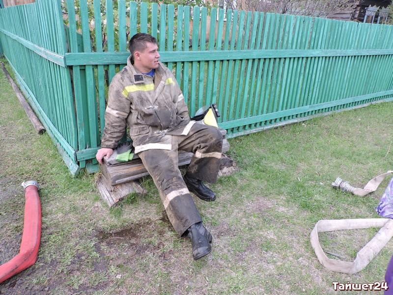 Несколько жилых домов загорелись в 3-х поселках Тайшетского иЧунского районов