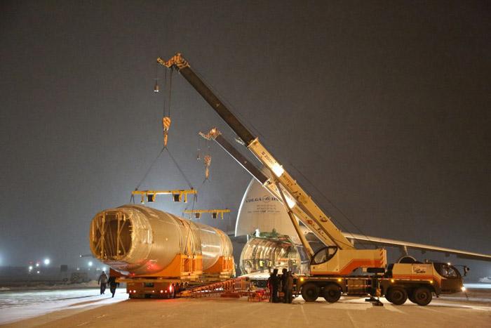 Фюзеляж самолета МС-21-300 доставили вЖуковский