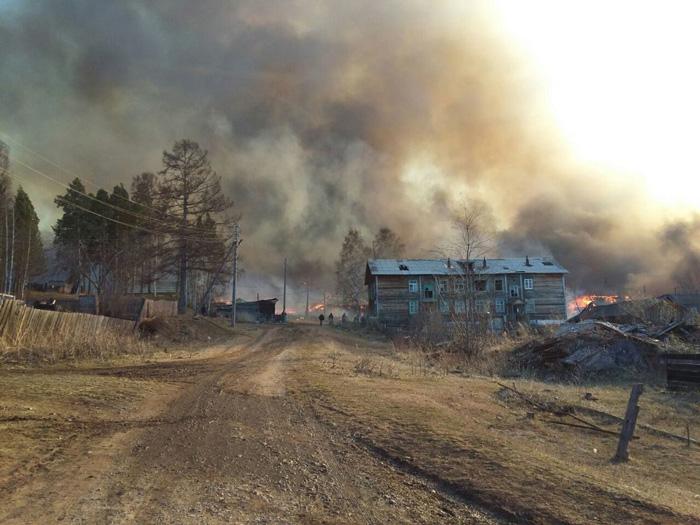 Власти переселят граждан сгоревшего посёлка под Иркутском за95 млн руб.