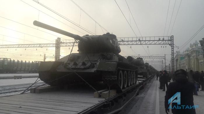 Т-34 изЛаоса: проездом вИркутске