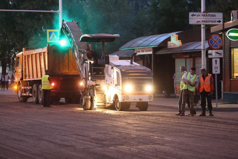 ВИркутске начался комплексный ремонт дороги вокруг сквера имени Кирова