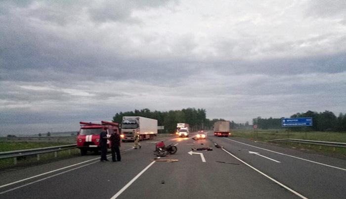 Мотоциклист умер вДТП натрассе Р-255
