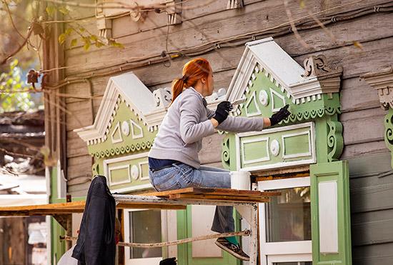 ВИркутске стартовала регистрация научастие вакции «Фасадник»