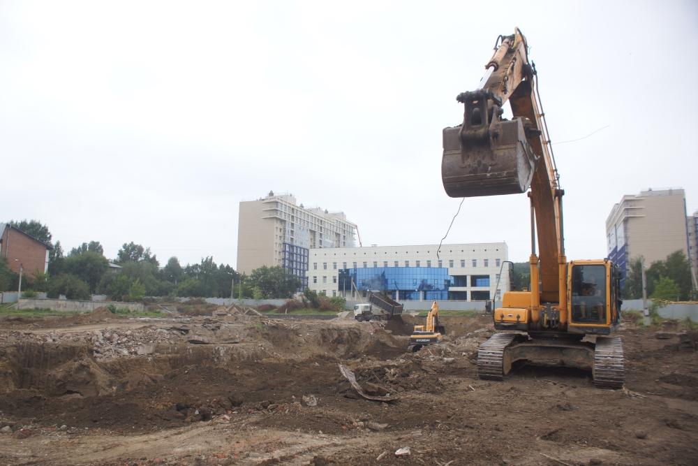 ВИркутске начали строить школу №19