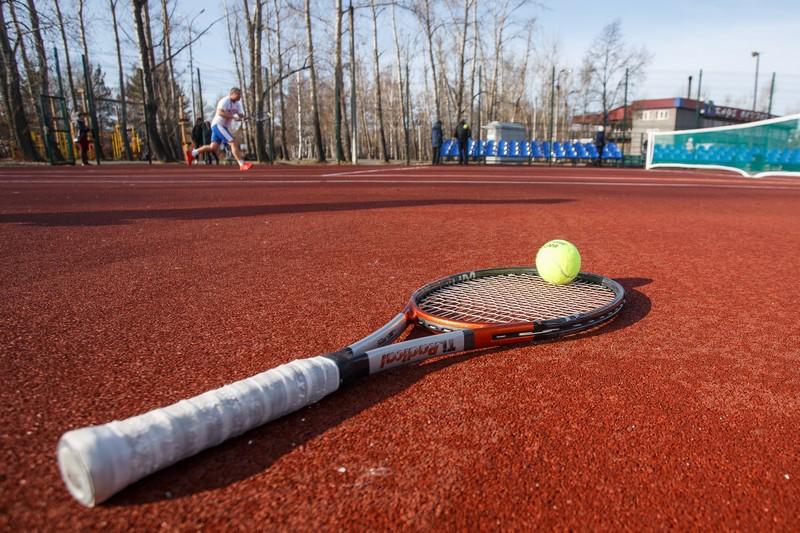 1-ый городской теннисный корт открыли вИркутске