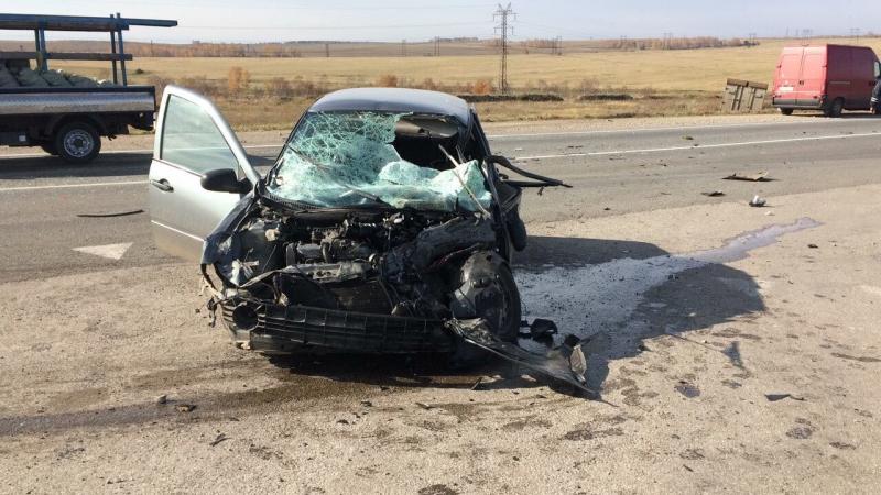ДТП вЧеремховском районе: погибла женщина, 5 человек пострадали