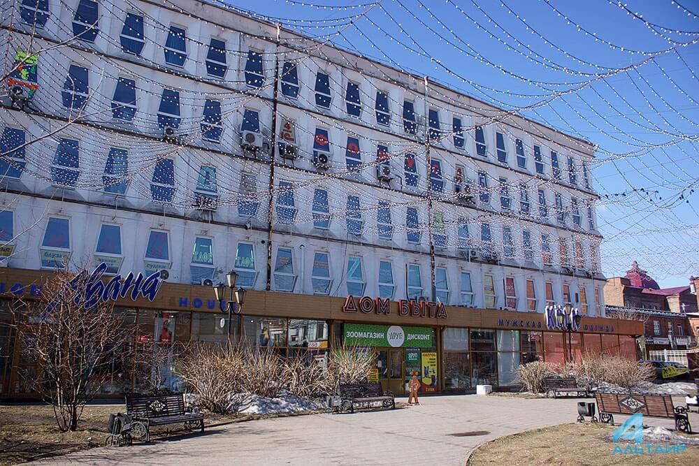 ВИркутске приставы остановили эксплуатацию Дома быта наУрицкого