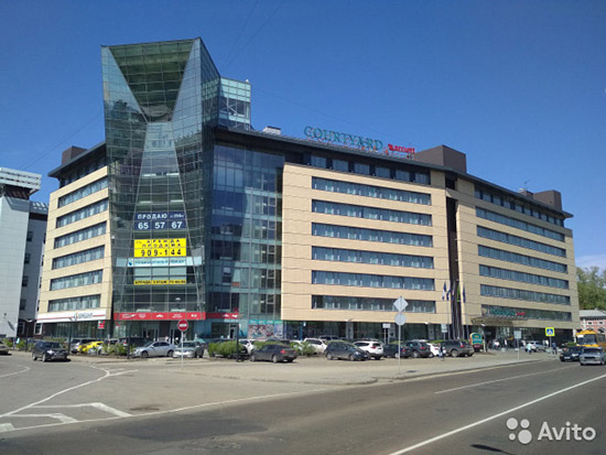 Отель Marriott вИркутске продали