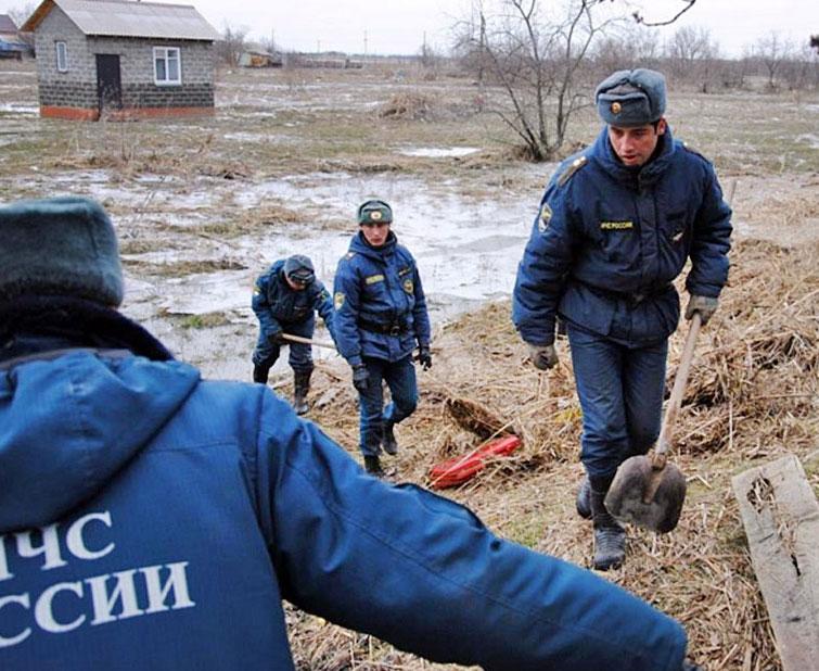 МЧС РФ направит подкрепление вАлтайский край для борьбы спаводком