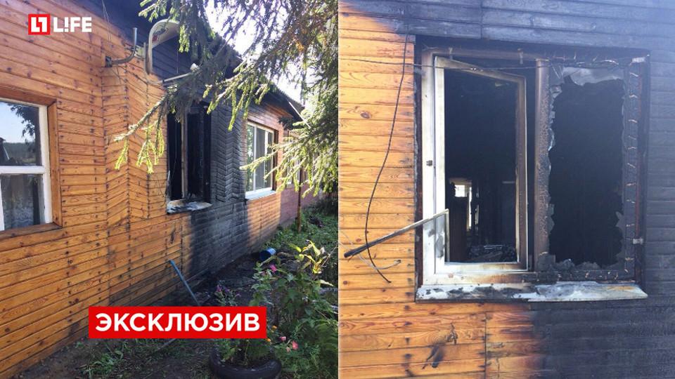 Бутылка сгорючей смесью взорвалась вдоме руководителя Троицкого